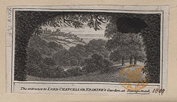 The Entrance to Lord Chancellor Erskine's Garden in Hampstead